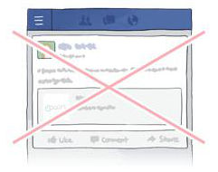 フェイスブックアカウントのイメージ