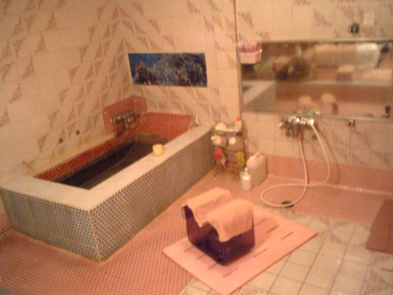 ソープランドの個室