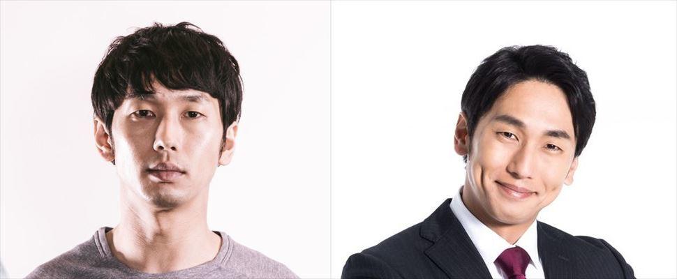男性のプロフィール写真の比較