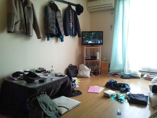 普通の部屋